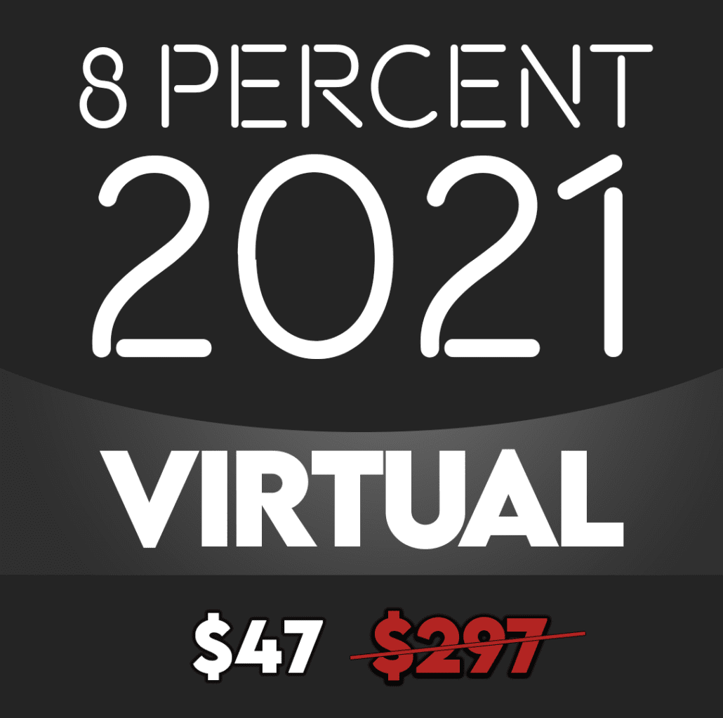 8% Nation Virtual Conference Ticket Heading $49