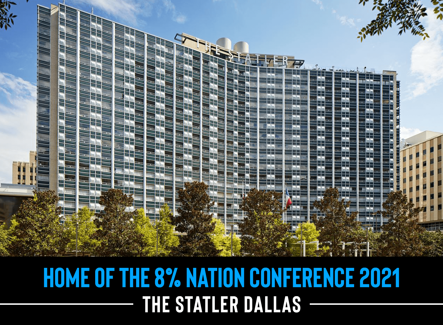 An image of the Statler Hotel in Dallas, TX
